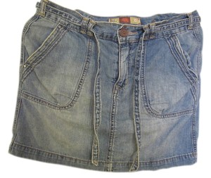 Old Navy Mini Skirt Blue Jean