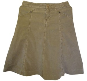 Gap Corduroy Skirt Tan