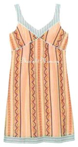 Sundance short dress Peach, Orange, Blue New Without Tags Southwestern on Tradesy