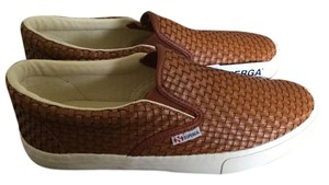Superga Slip On Sneaker Sneakers Cognac brown Flats