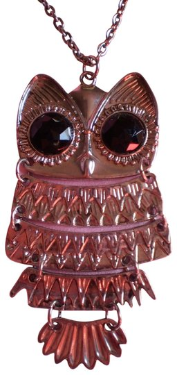 Preload https://item3.tradesy.com/images/body-central-new-silvertone-owl-necklace-164932-0-1.jpg?width=440&height=440