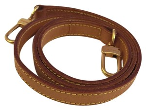 Louis Vuitton Louis Vuitton Shoulder Strap Leather Strap LV For Bag