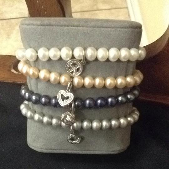 Other Pearl And Diamond Sterling Bracelets