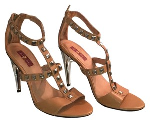 7 For All Mankind Tan Sandals