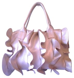Bueno Collection Hand Fashion Formal Casual Satchel in Buff Nude Tan