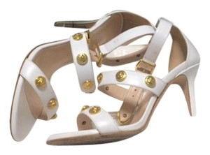 Versace White and gold Sandals