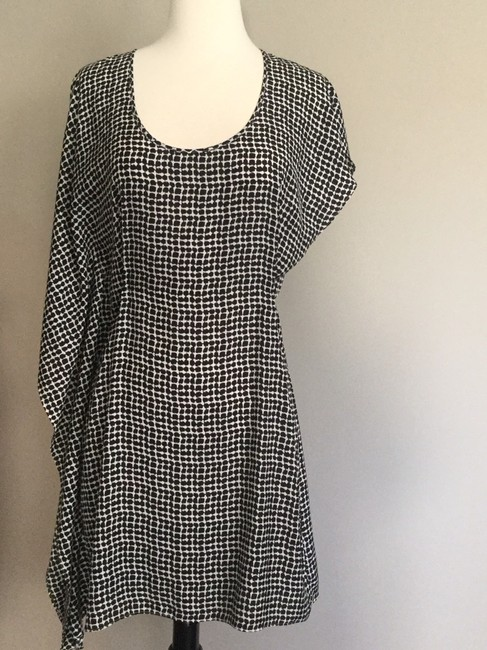 Central Park West short dress black and white on Tradesy