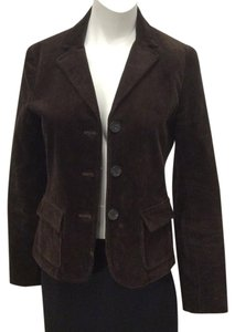 Theory Corduroy Jacket Brown Blazer