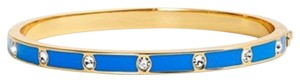 Kate Spade kate spade new york crystal & enamel hinge bangle New With Tags