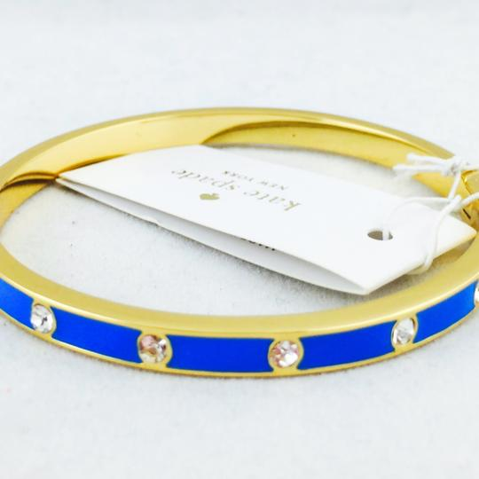 Kate Spade kate spade new york crystal & enamel hinge bangle New With Tags Image 1