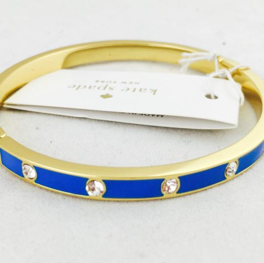 Kate Spade kate spade new york crystal & enamel hinge bangle New With Tags Image 2