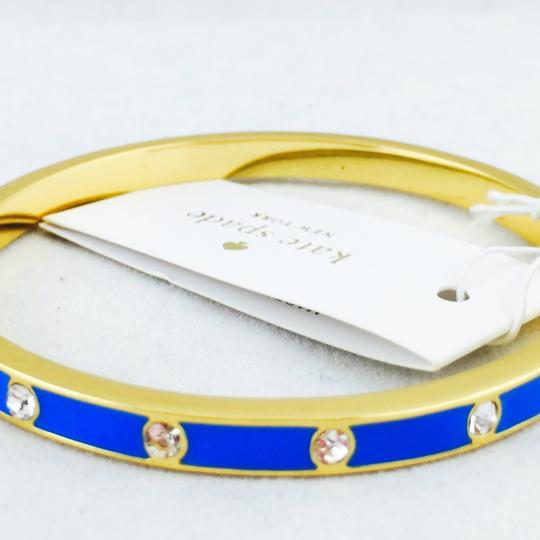 Kate Spade kate spade new york crystal & enamel hinge bangle New With Tags Image 5