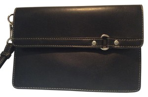 Other Wristlet in Black Leather