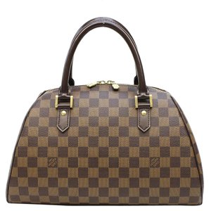 Louis Vuitton Lv Neverfull Signature Euc Satchel in Brown