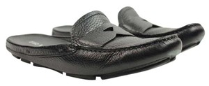 Prada Sandals Flip Flops Slides Black Mules