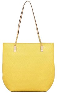 Michael Kors Kate Spade Jet Set Ns Chain Tote Yellow Shoulder Bag