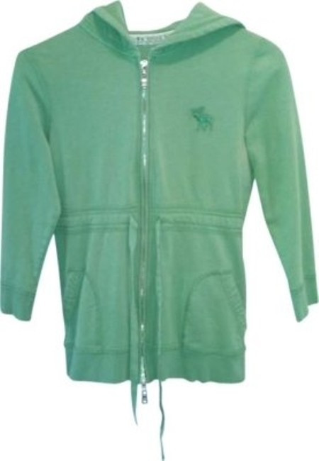 Preload https://img-static.tradesy.com/item/164955/abercrombie-and-fitch-green-sweatshirthoodie-size-12-l-0-0-650-650.jpg