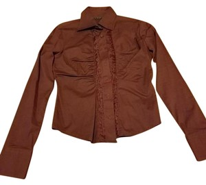Sisley Button Down Shirt brown