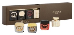 Gucci Gucci Variety Mini Perfume for Women 4 Piece Gift Set - .17pz Splash