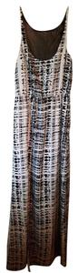 Ombre print Maxi Dress by