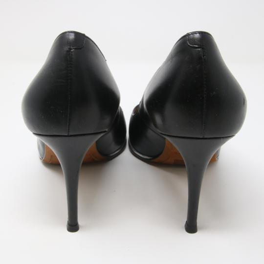 Givenchy Fashion Lambskin Heels Silver Studded Black Pumps Image 3