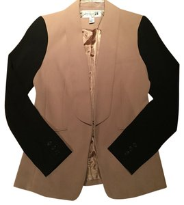 Forever 21 Black and Tan Blazer