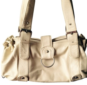 Gurkia Spain Barcelona Satchel in Cream