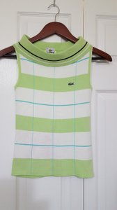 Lacoste Country Chic Casual Style Work Top