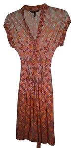 BCBGMAXAZRIA short dress Pink Bcbg Maxazria Womens Neon on Tradesy