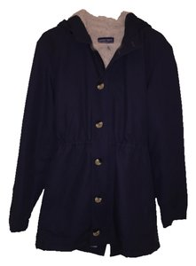 American Apparel Winter True Navy Canvas Jacket