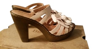 Brn Natural Antique Sandals