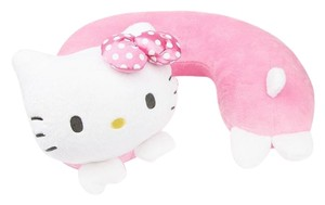 Sanrio SANRIO Hello Kitty Travel Pillow: Pink Bow