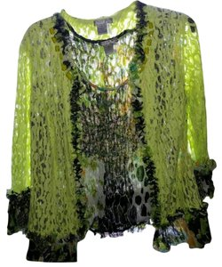 Alberto Makali Top Green and black