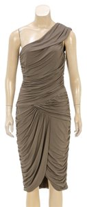 Michael Kors short dress Taupe on Tradesy