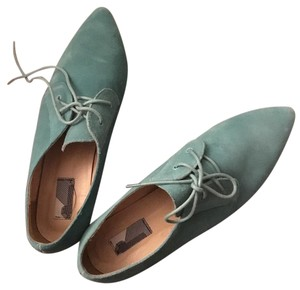 Urban Outfitters Teal Flats