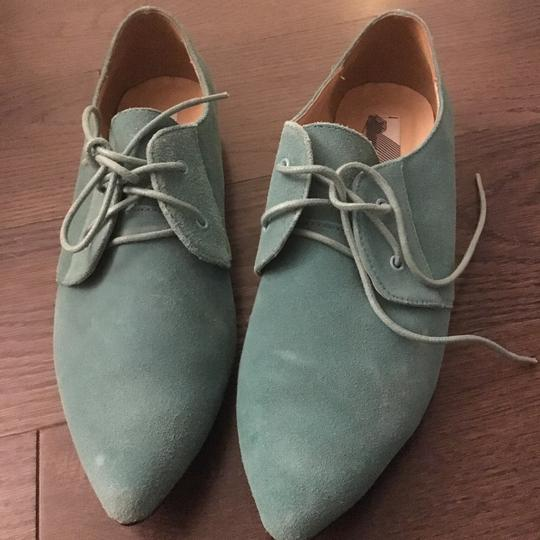 Urban Outfitters Teal Flats Image 1
