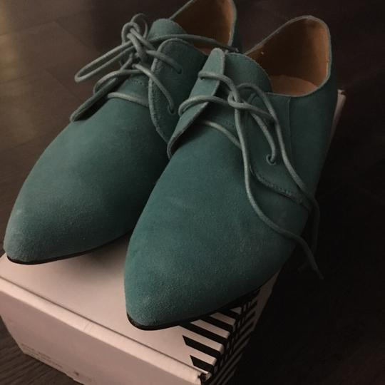 Urban Outfitters Teal Flats Image 2