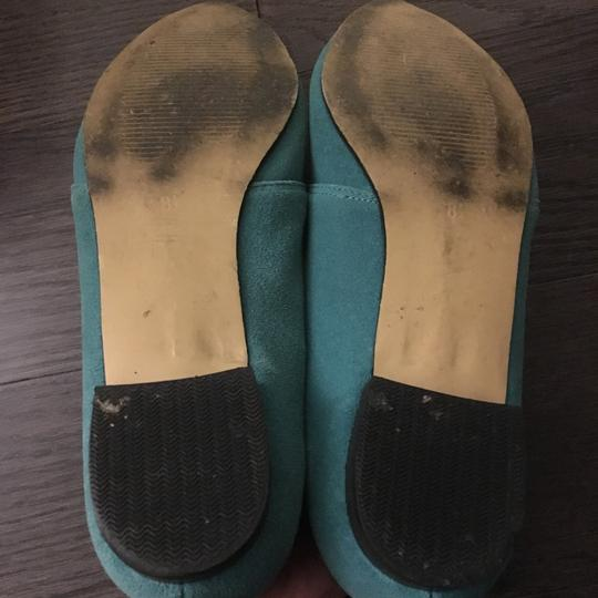 Urban Outfitters Teal Flats Image 3