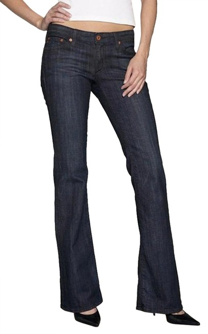 AG Adriano Goldschmied Flare Leg Jeans-Medium Wash Image 1