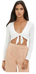 Forever 21 Stone Cold Fox For Love And Lemons Reformation Lover + Friends Topshop Top Cream