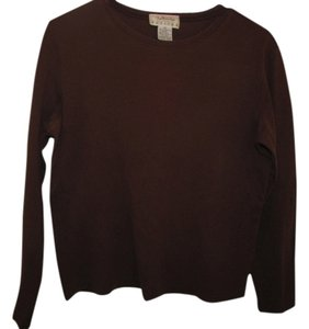 Talbots Longsleeve T Shirt Brown