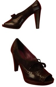 Coach Chocolate Pumps
