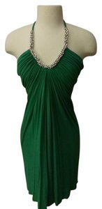 Sky short dress Green Halter on Tradesy