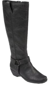Aerosoles Riding Knee High Black Boots