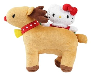 Sanrio Hello Kitty Reindeer Plush In Bag-