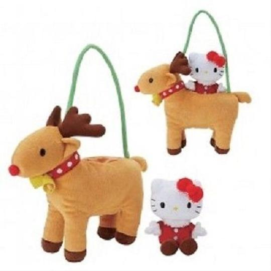 Sanrio Hello Kitty Reindeer Plush In Bag- Image 2