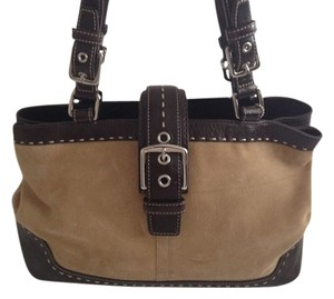 Coach Tote in Beige/Brown
