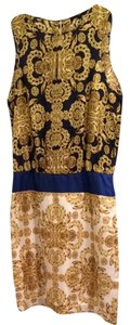 Tibi Professional Nightout Fashion Style Versace Baroque Elegant Sleeveless Silk Sundresses Designer New Dress