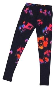 Louis Vuitton Limited Edition Roses Graffiti Rare Pants Multicolor Leggings