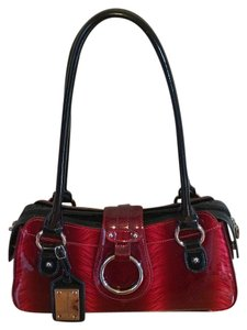 Bobby Schandra Satchel in Black & Red